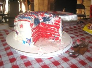 Hidden Flag Torte Cake Recipe