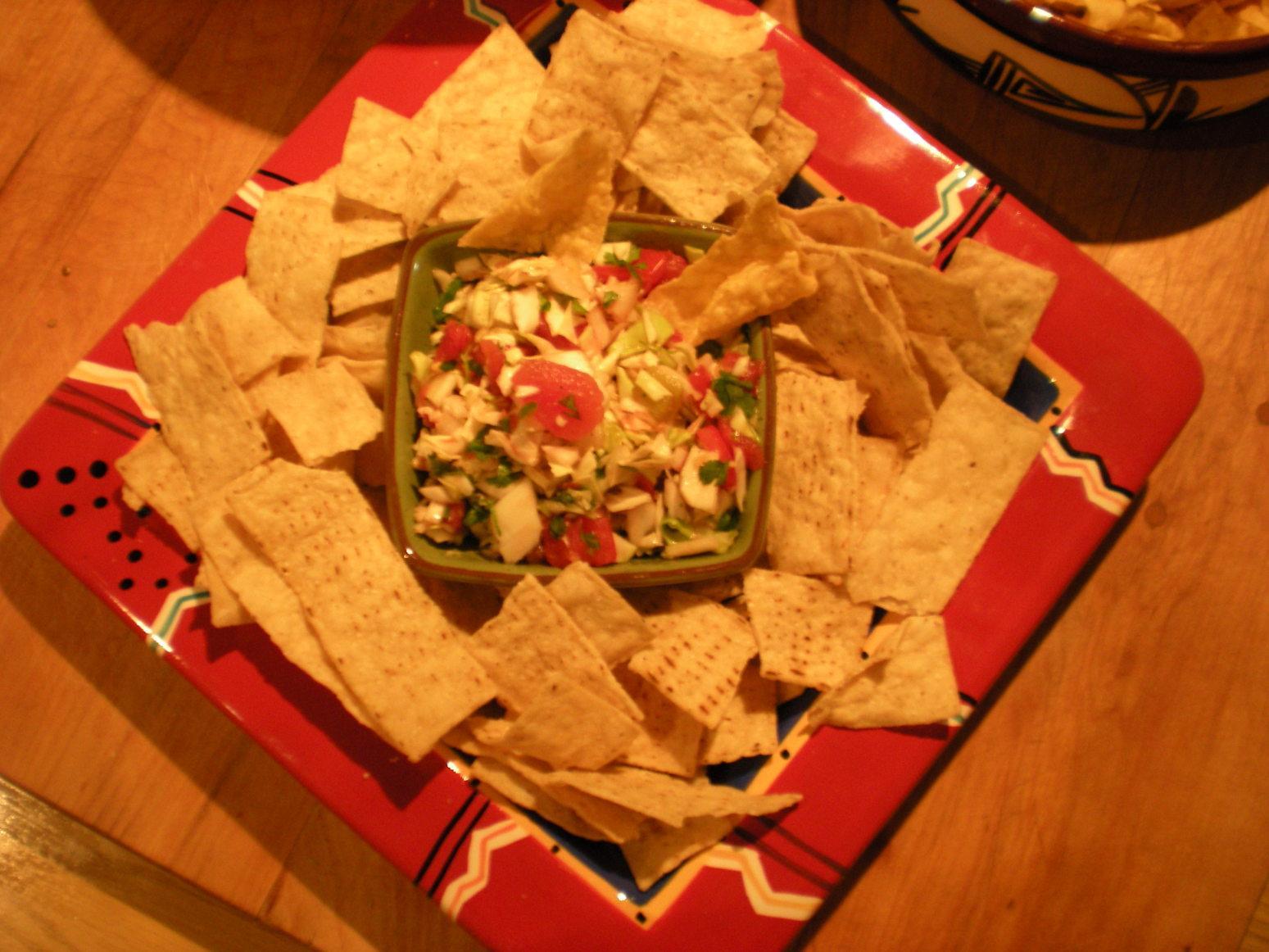 Cabbage Pico de Gallo Salsa Recipe