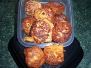 Italian Herb Cheesy Squash Puffs Recipe