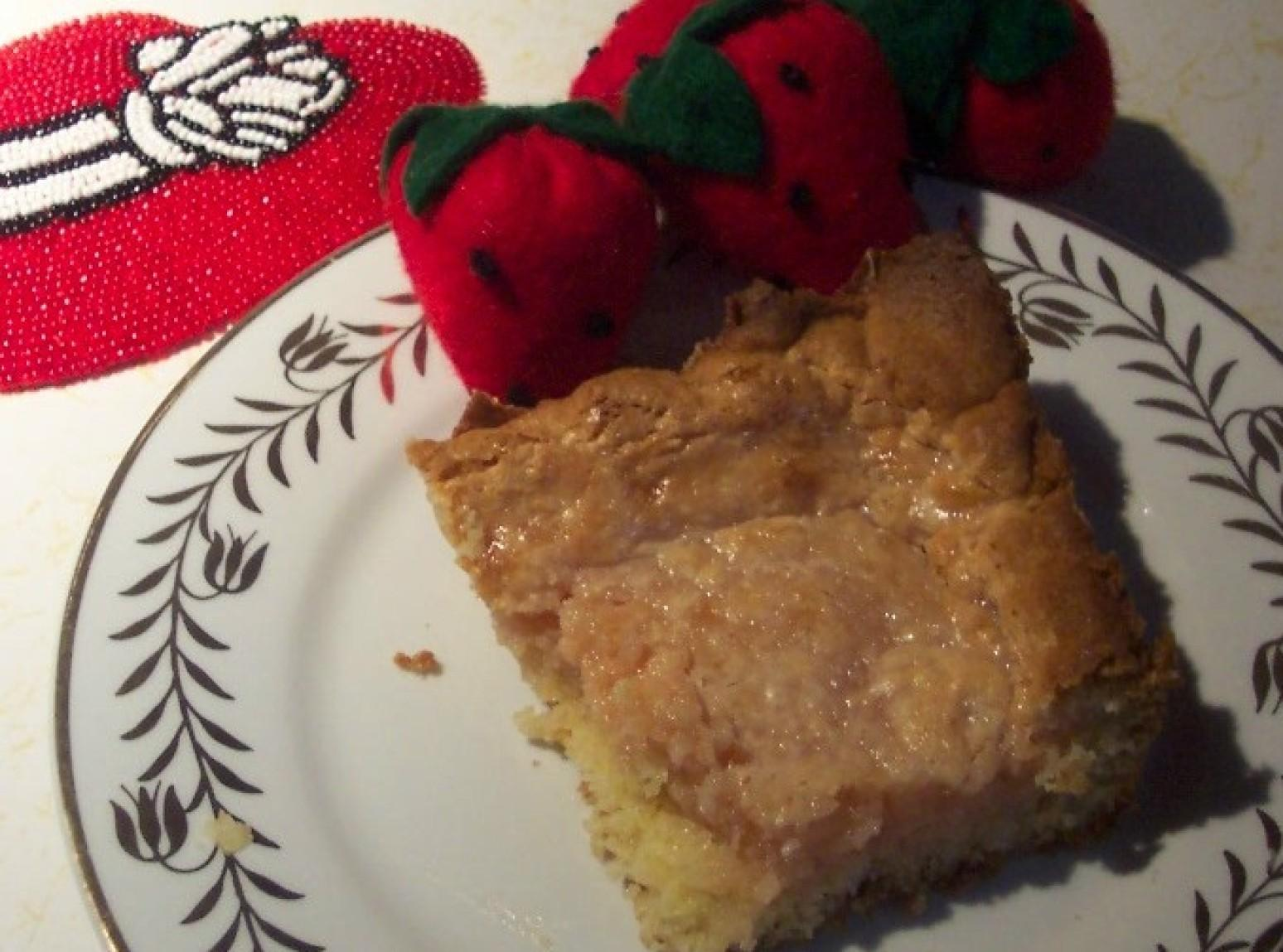 A  RED HAT STRAWBERRY CHEESE,GOOEY BUTTER CAKE Recipe