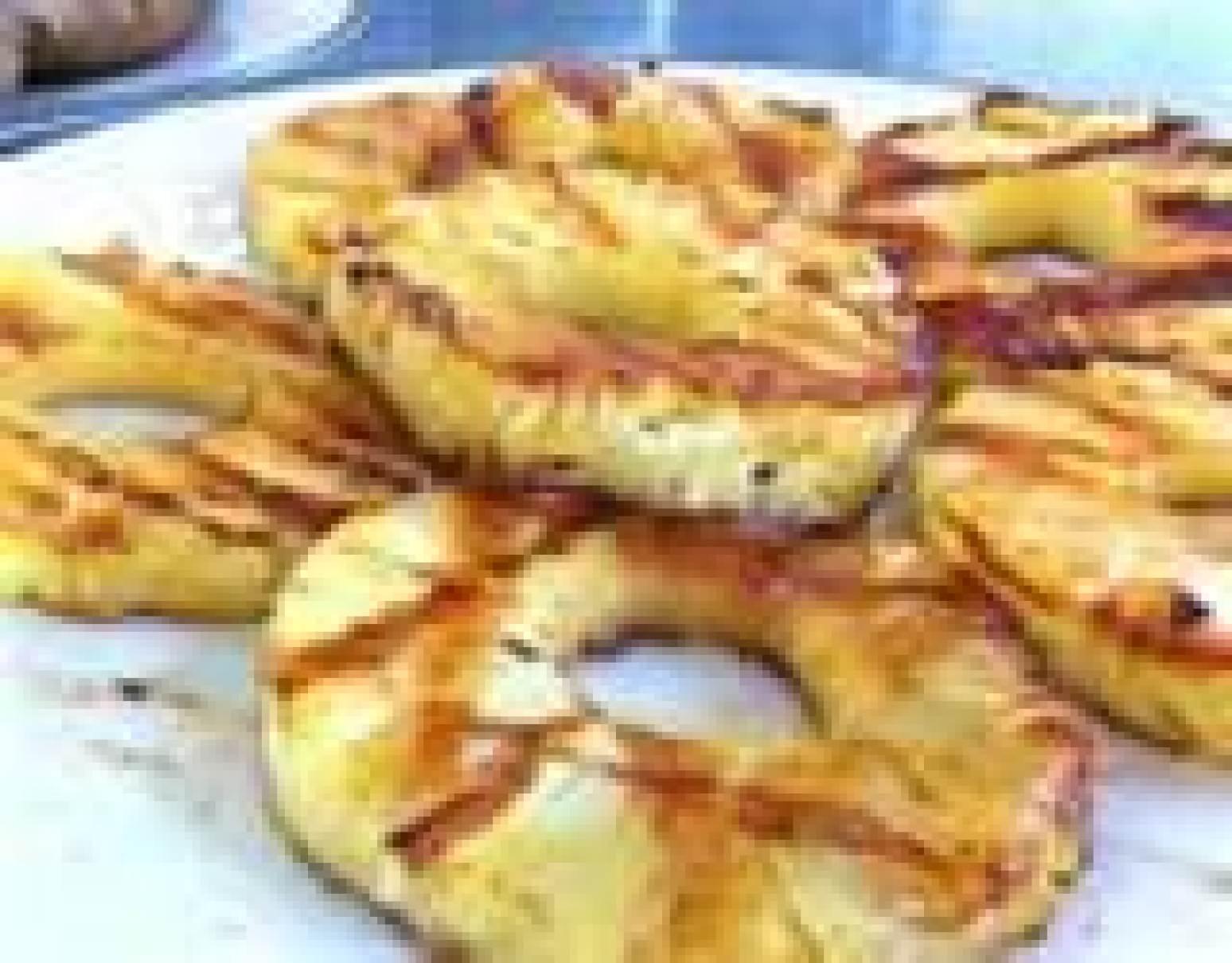 Pineapple Luau Style (Grilled) Recipe