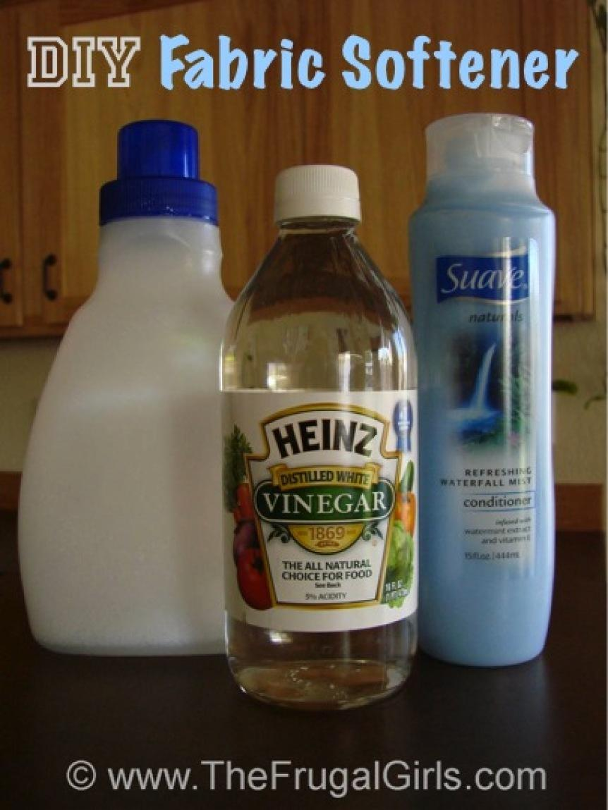 Homemade Fabric Softner Recipe