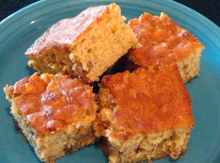 Preserved Banana Bars