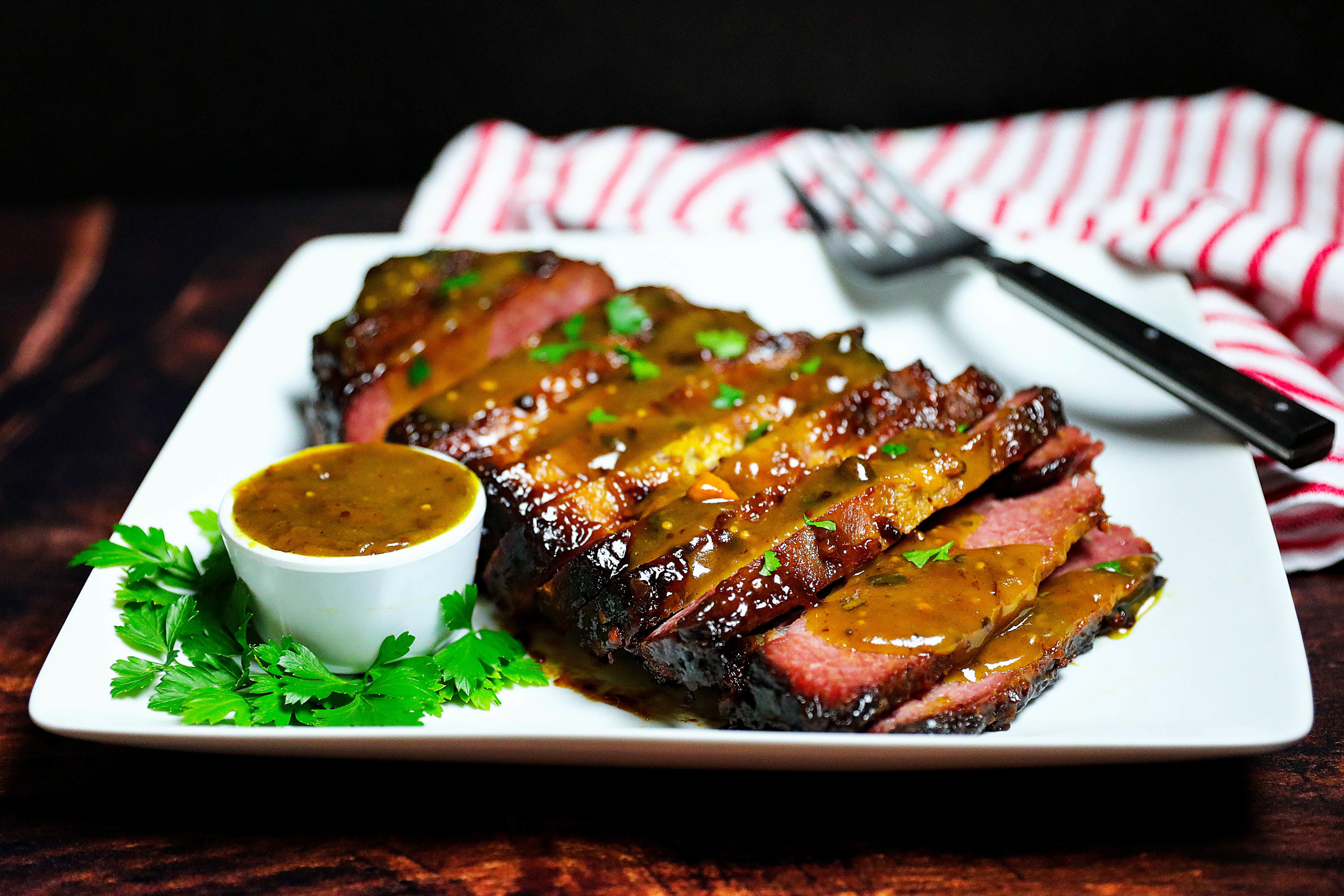 Sweet & Sassy Corned Beef Brisket Recipe