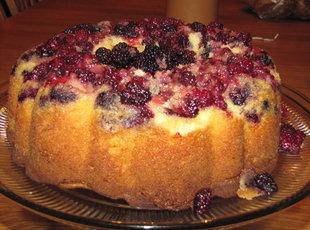 Vanilla Blackberry Cake Recipe