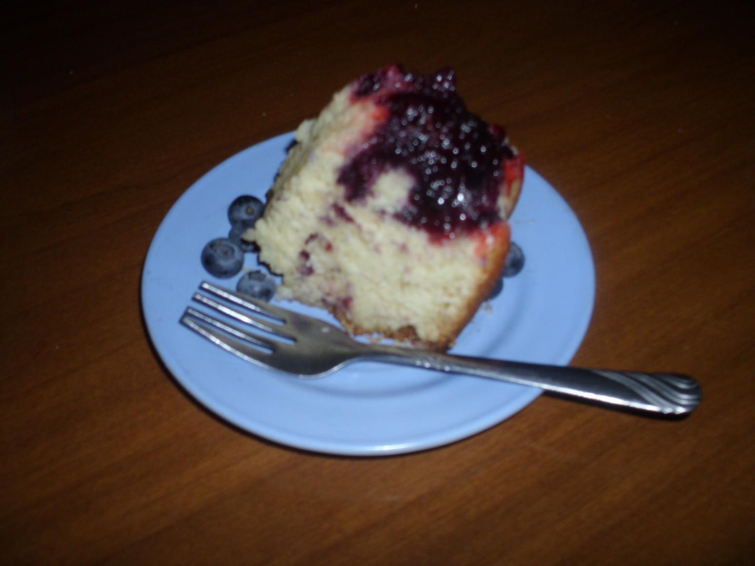 Blue Razz Bundt Cake Recipe