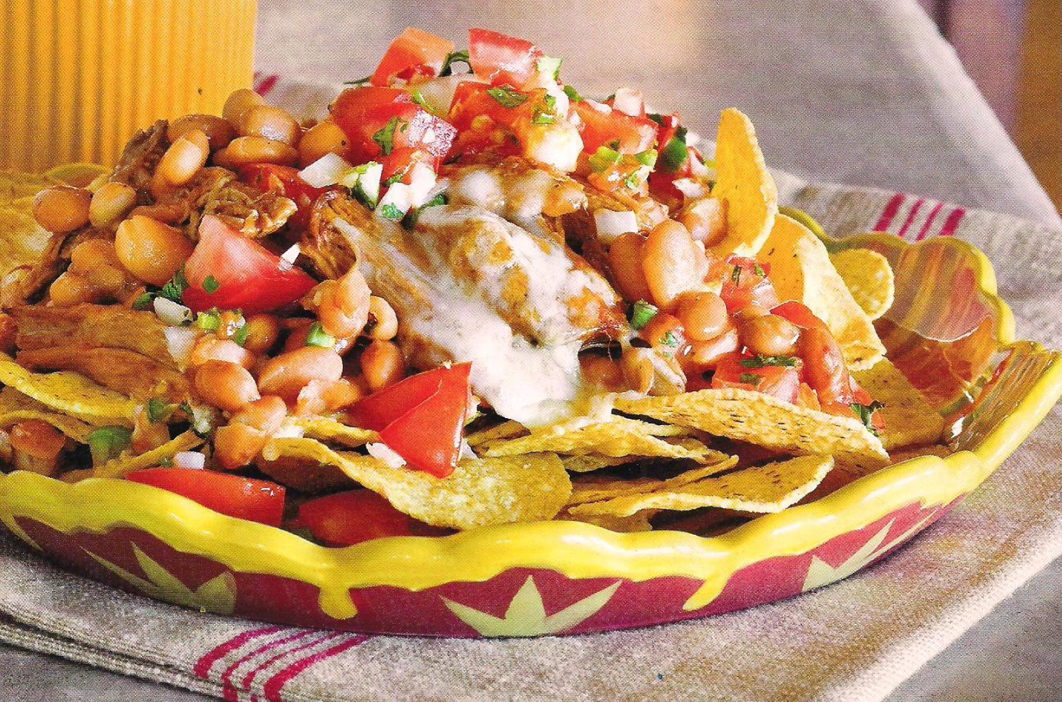 Cowboy Nachos Recipe | Just A Pinch Recipes