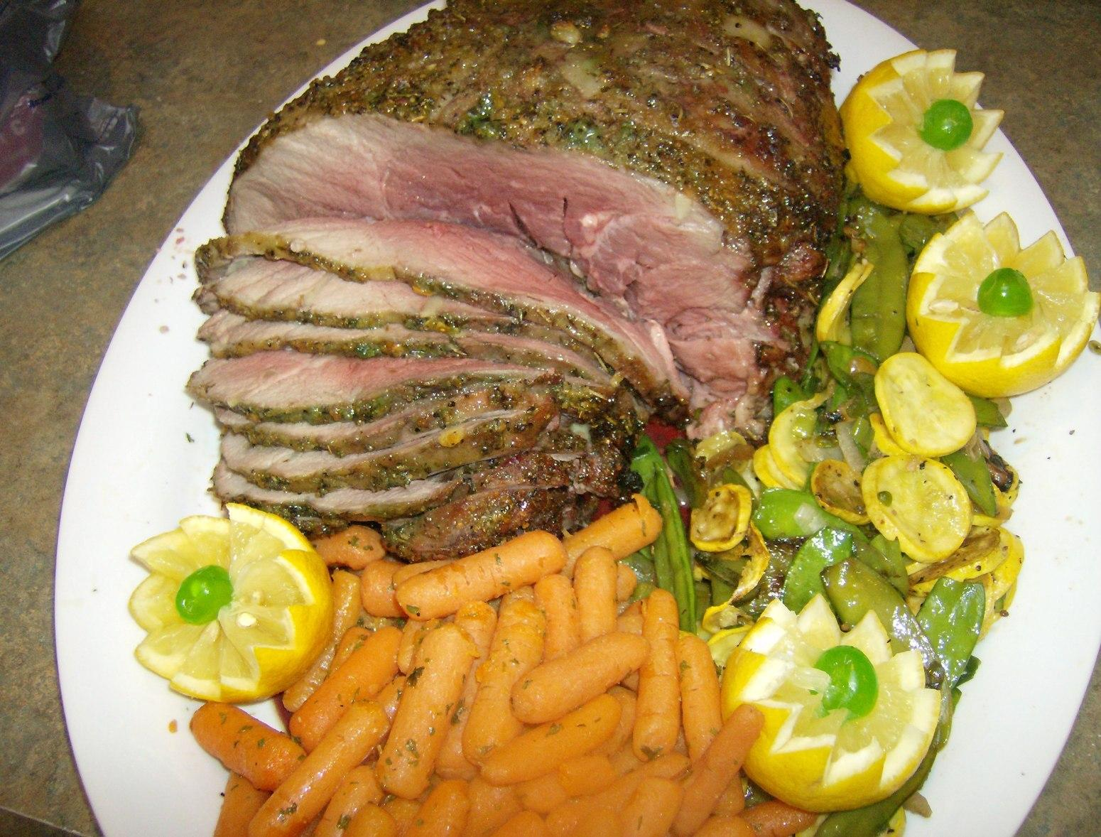 Citrus Marinated Leg of Lamb Recipe
