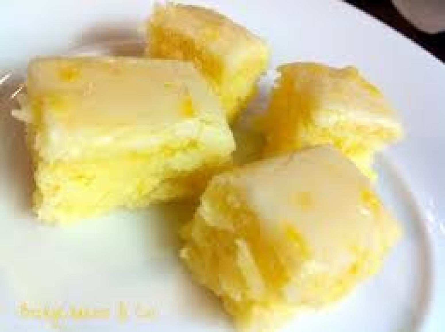 Lemon Brownies Recipe