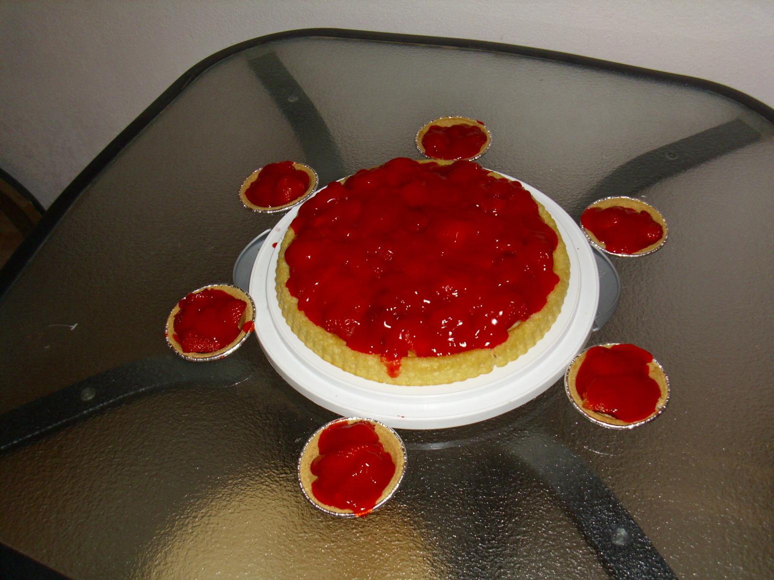 German Obst Torte {Fruit Tart] Recipe