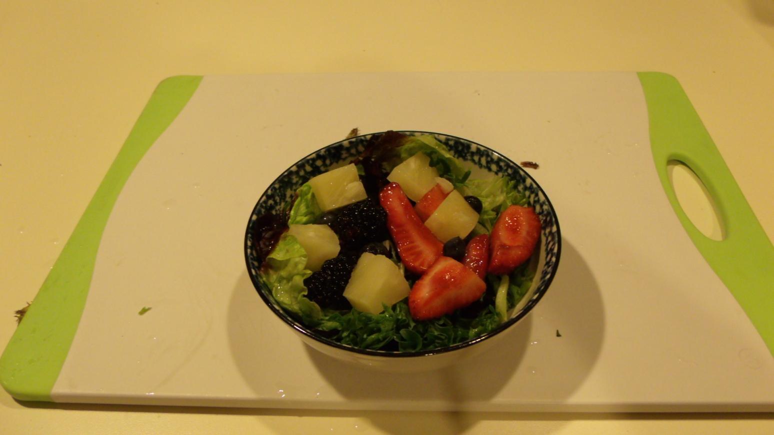 Very-Berry Salad Recipe