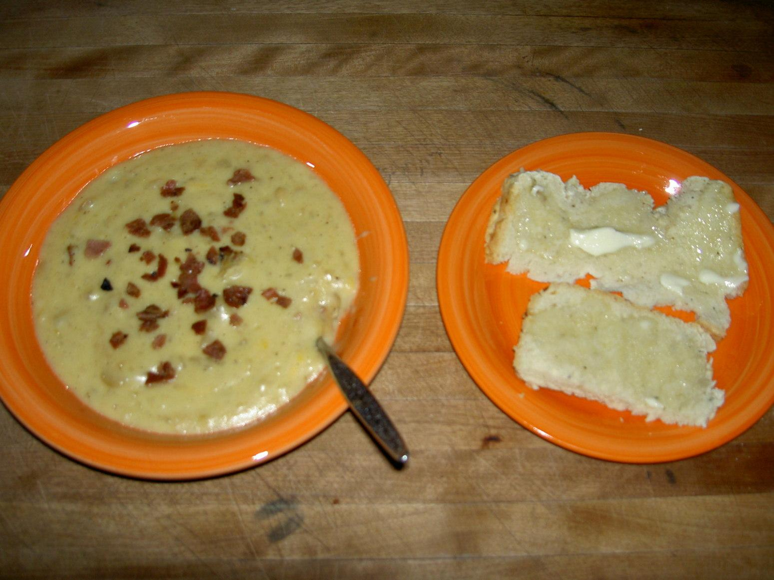 Slow Cooker Cheesy Bacon Potato Soup Recipe