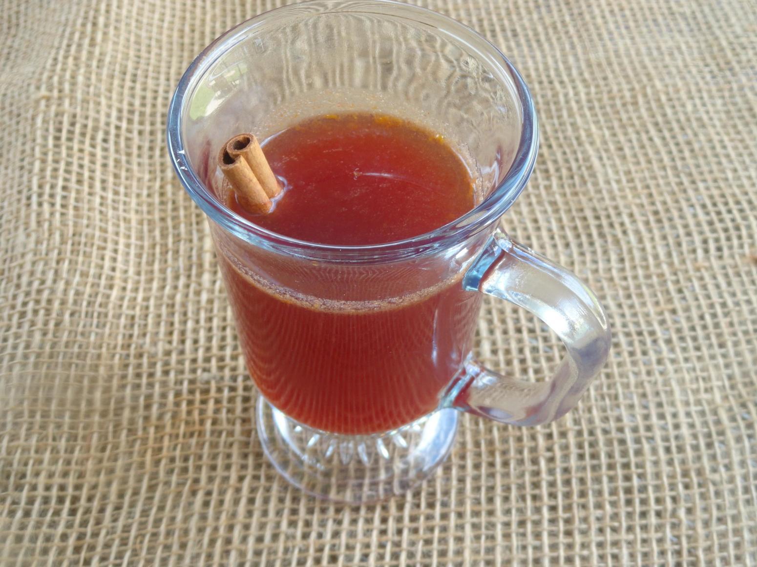 Home Made Holiday Cranberry Cider
