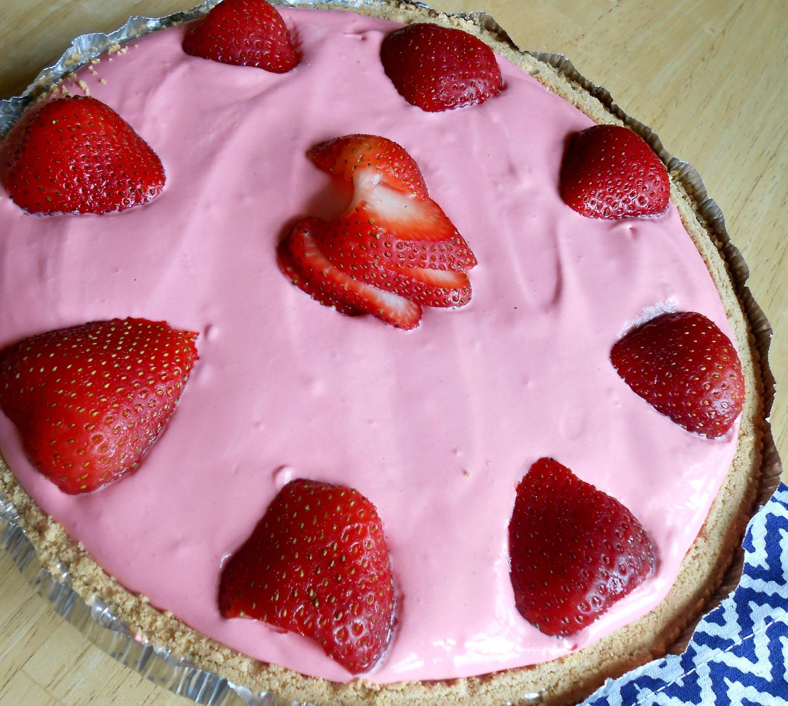 Strawberry Kool-Aid Pie Recipe