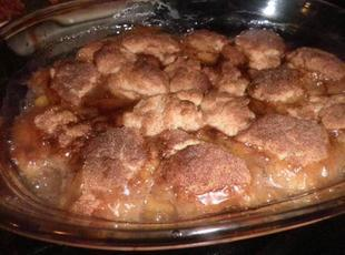 Peachy for Peach Cobbler Recipe