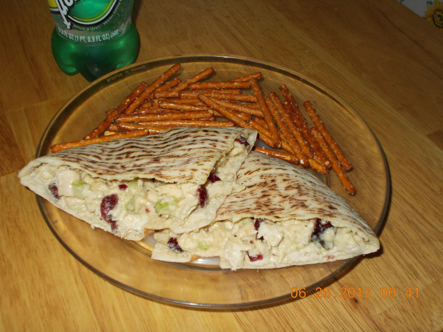 Chicken & Craisin Salad Sandwich Recipe