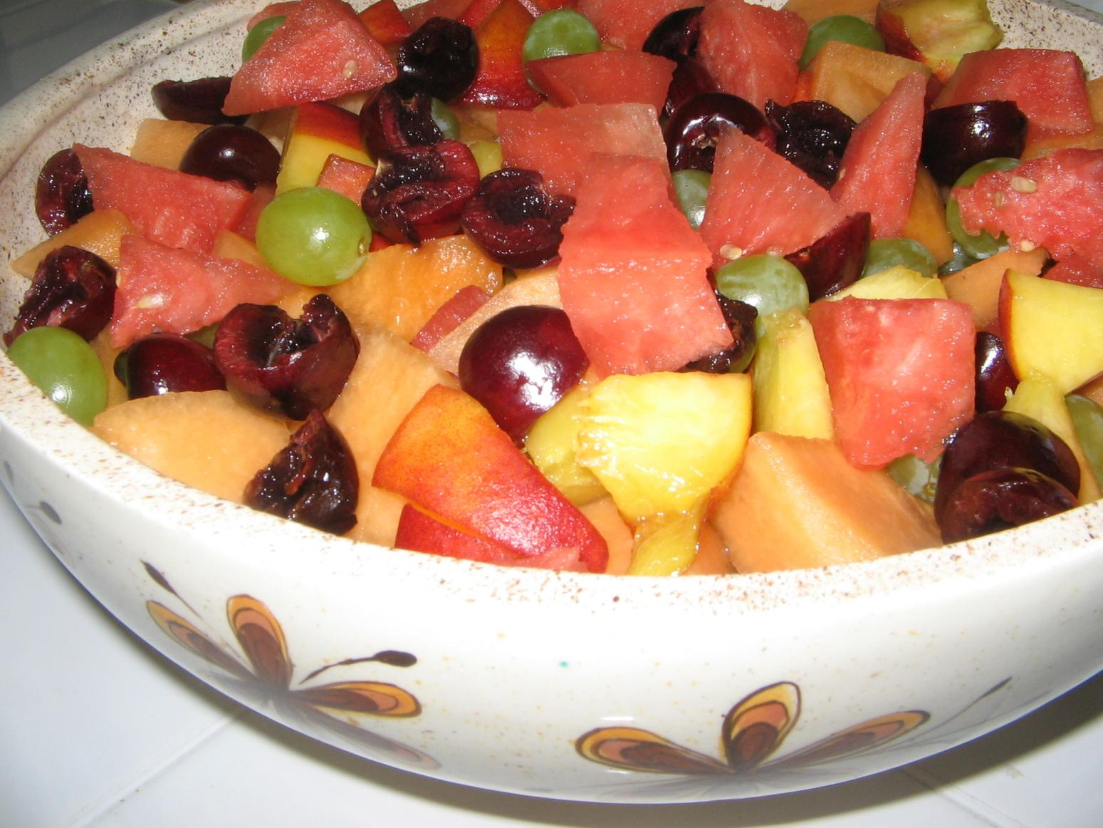 Fresh Fruit Bowl Recipe