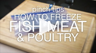 Pinch Tips: How To Freeze Fish, Meat & Poultry Recipe
